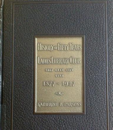 Ladies Literary Club Book