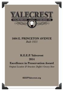 1604 Princeton