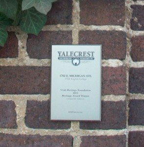 KEEP Yalecrest Plaque (2)