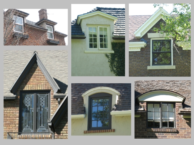 wall dormers
