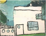 Bonneville student art; Recognize this house?