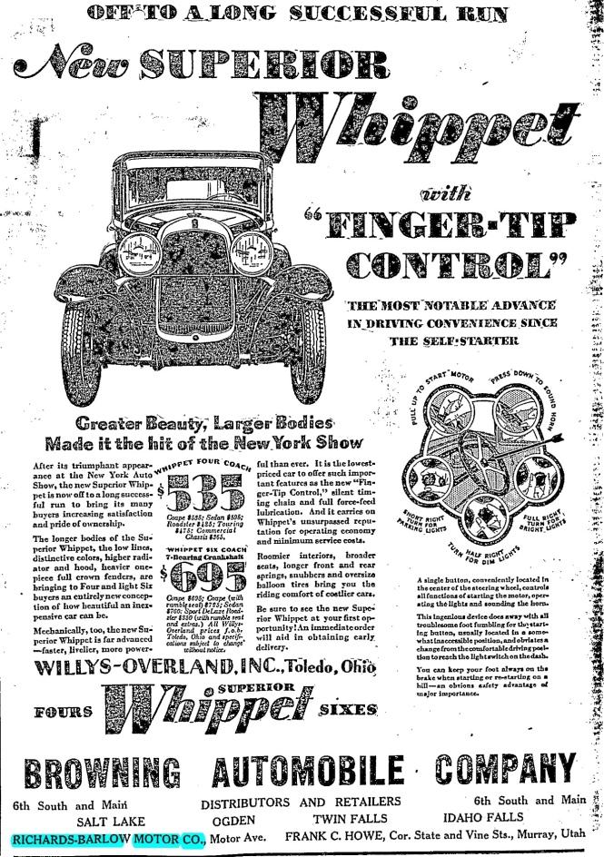 Jan 1929 ad
