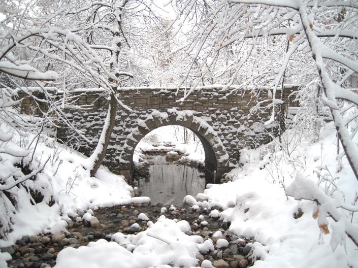 Miller Park Stone Bridge