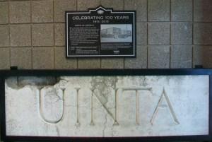 Uinta(h) Sign Installation 044