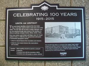 Uinta(h) Sign Installation 045