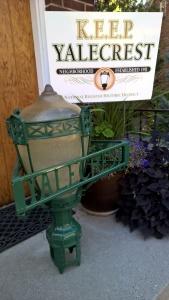 Restored Street Lamp Basket