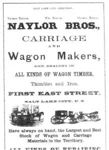 Naylor Brothers Ad