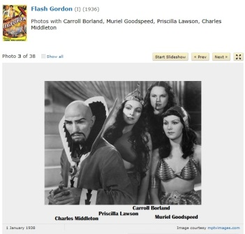 Muriel Goodspeed & other Flash Gordon characters1