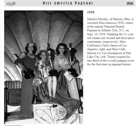 Muriel Miss America 1938