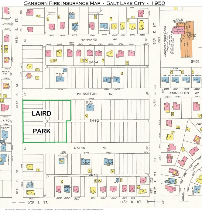 Laird Park Sanborn Map 1950 362